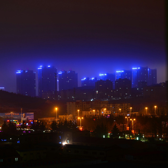 evening-night-light-energy-city 图片素材
