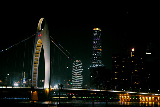 bridge-city-architecture-cityscape-urban picture material