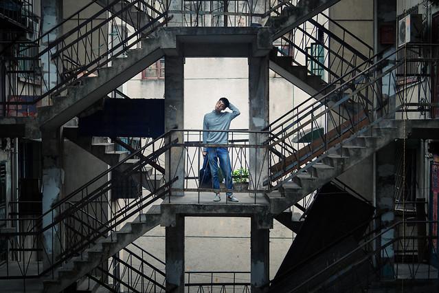 step-ladder-grinder-industry-steel picture material