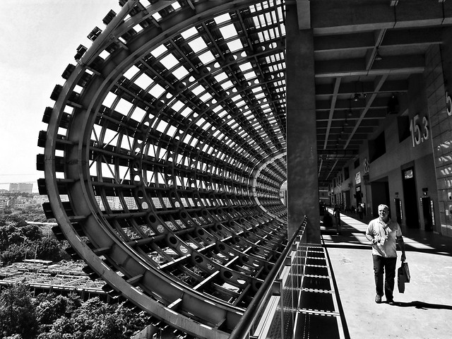 monochrome-black-black-white-city-urban picture material