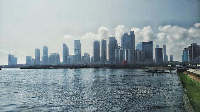 skyline-city-skyscraper-architecture-downtown picture material