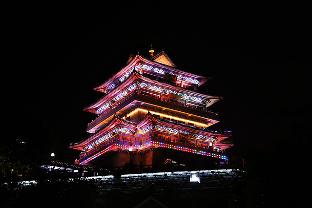 no-person-travel-architecture-night-light picture material