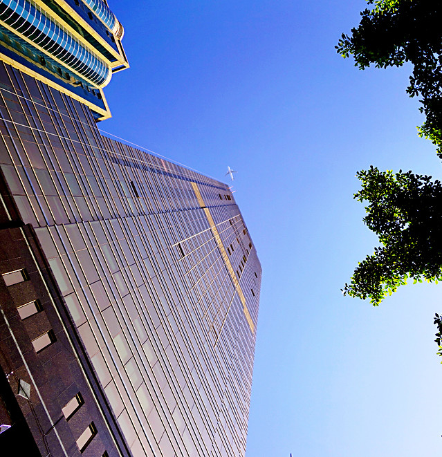 architecture-office-city-building-sky picture material