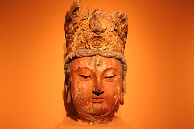 sculpture-art-face-buddha-religion picture material