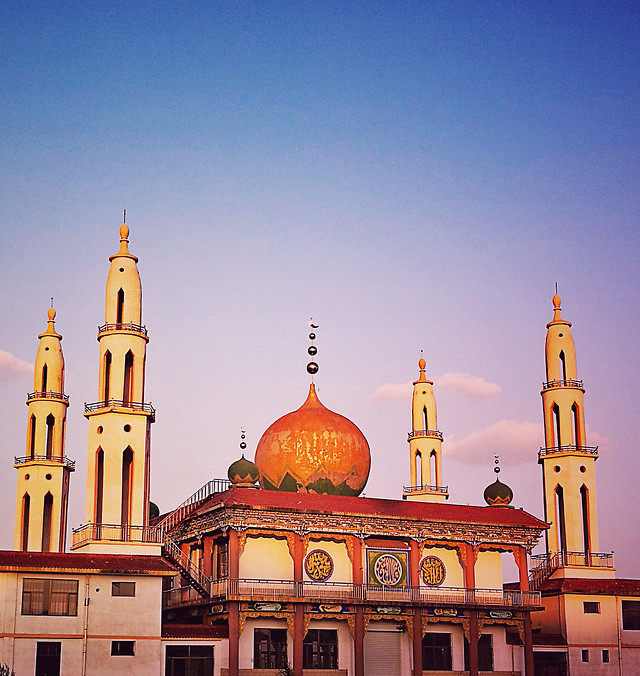 architecture-travel-religion-dome-sky picture material