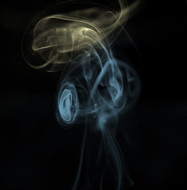 smoke-flame-curve-wave-dynamic picture material