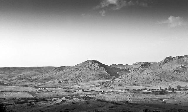 no-person-landscape-desert-mountain-sky 图片素材