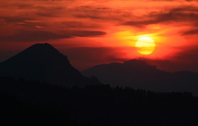 sunset-dawn-evening-dusk-sun 图片素材