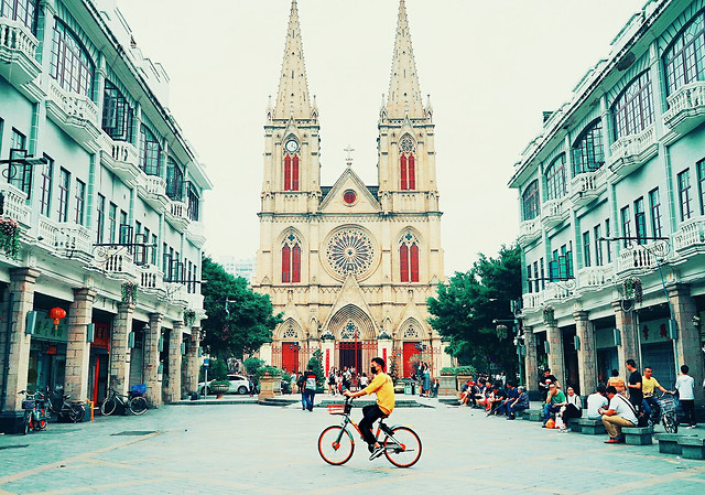 city-street-architecture-urban-travel picture material
