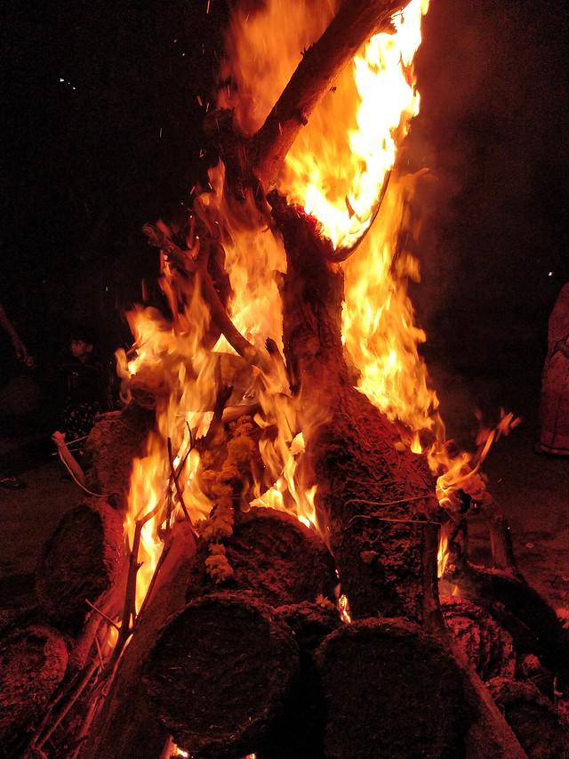 flame-heat-hot-coal-fireplace 图片素材