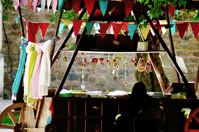 souvenir-stall picture material