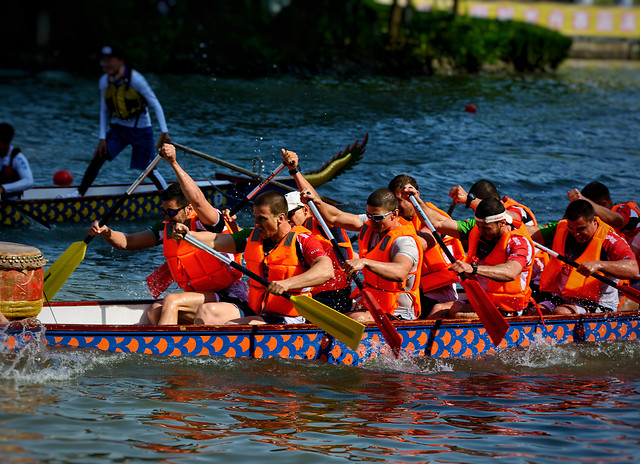 rowing-water-teamwork-people-competition picture material