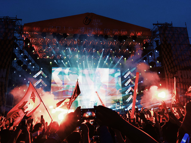music-festival-concert-performance-singer picture material