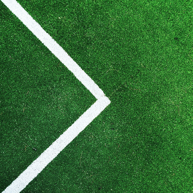 grass-no-person-green-football-stadium 图片素材