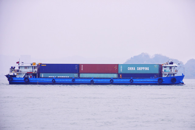 transportation-system-vehicle-no-person-container-container-ship picture material