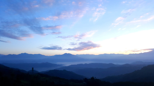 mountain-sky-landscape-dawn-travel picture material