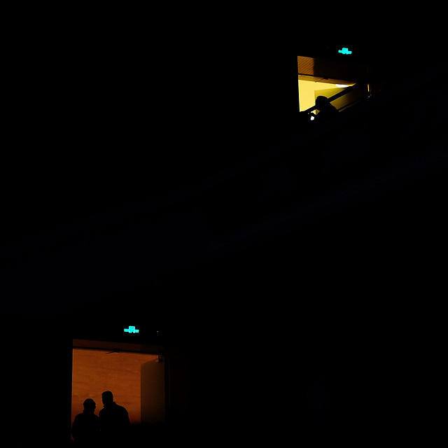 moon-silhouette-no-person-light-people picture material