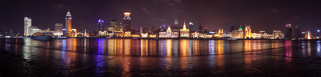 city-river-water-cityscape-dusk picture material