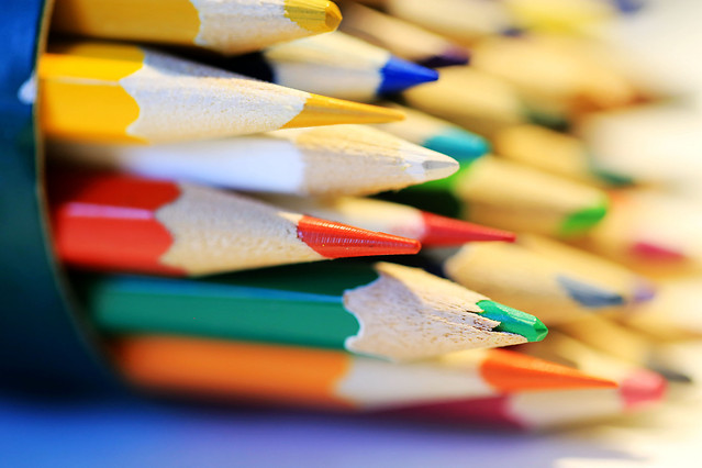no-person-pencil-wood-color-creativity picture material