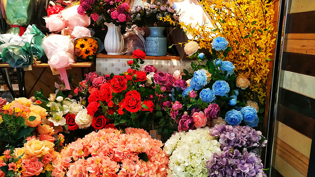 flower-bouquet-rose-floristry-flower-arranging picture material