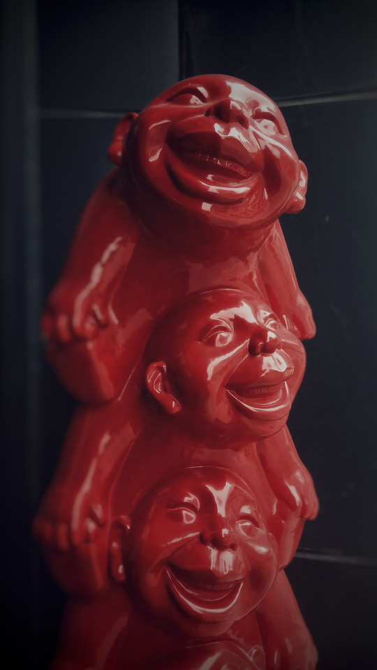 no-person-sculpture-one-red-art picture material