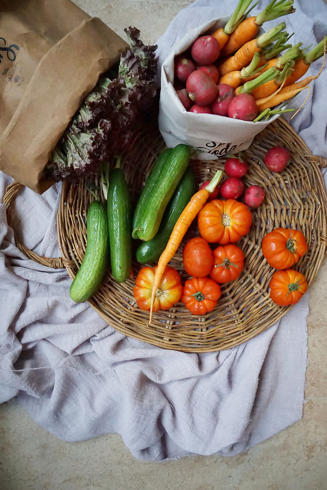 food-vegetable-no-person-basket-natural-foods picture material
