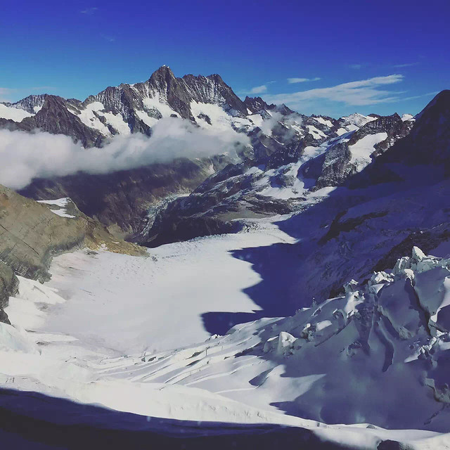 snow-mountain-glacier-ice-winter picture material