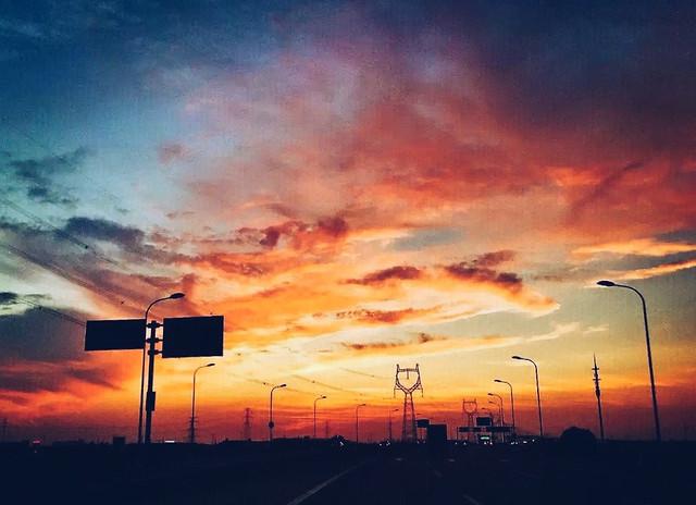 sunset-sky-landscape-energy-evening 图片素材