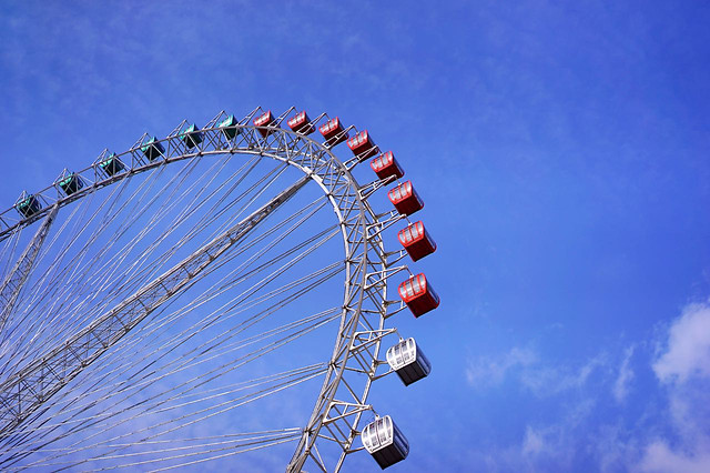 entertainment-carousel-carnival-sky-ferris-wheel 图片素材