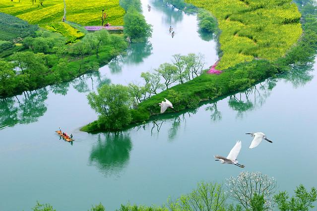 water-nature-lake-summer-landscape 图片素材