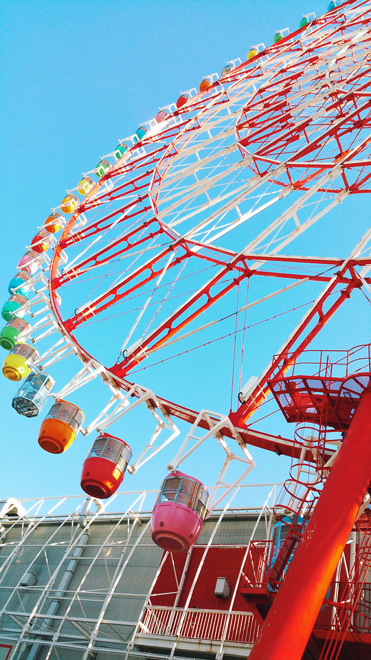 carnival-entertainment-carousel-fairground-ferris-wheel 图片素材
