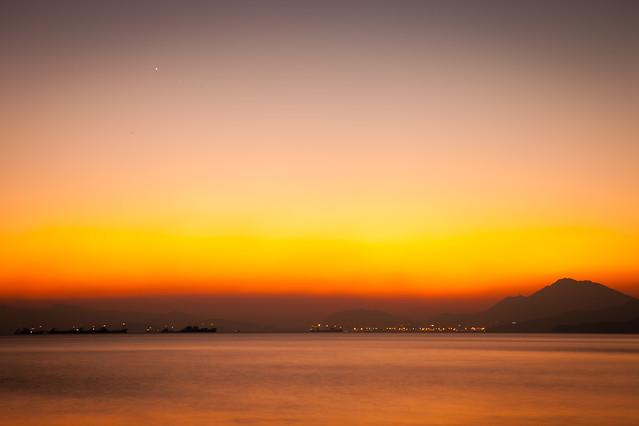 sunset-dawn-sun-evening-dusk picture material