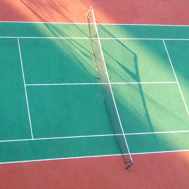 tennis-racket-sport-venue-courtyard-game picture material