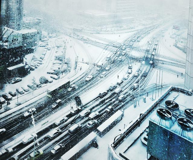 snow-winter-city-transportation-system-cold 图片素材