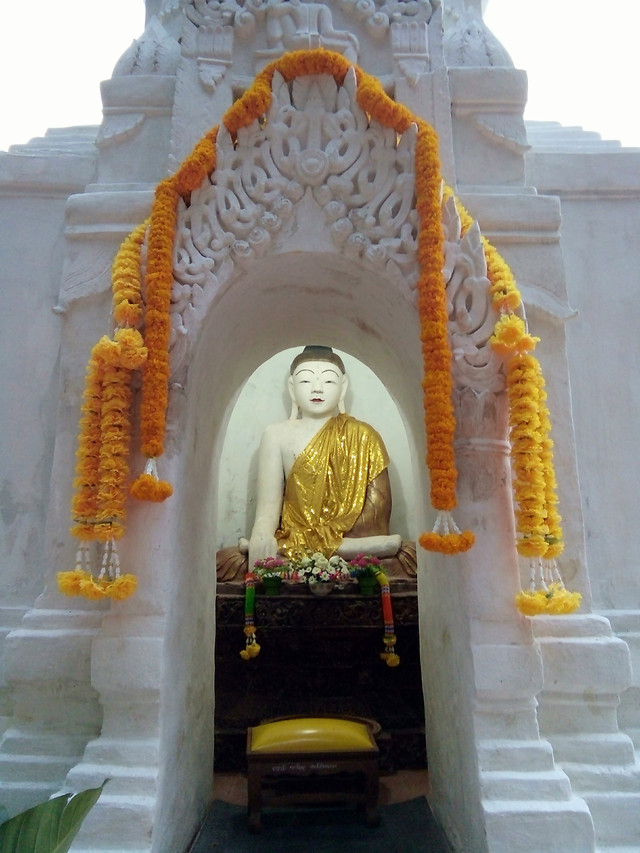 buddha-image-in-pagoda picture material